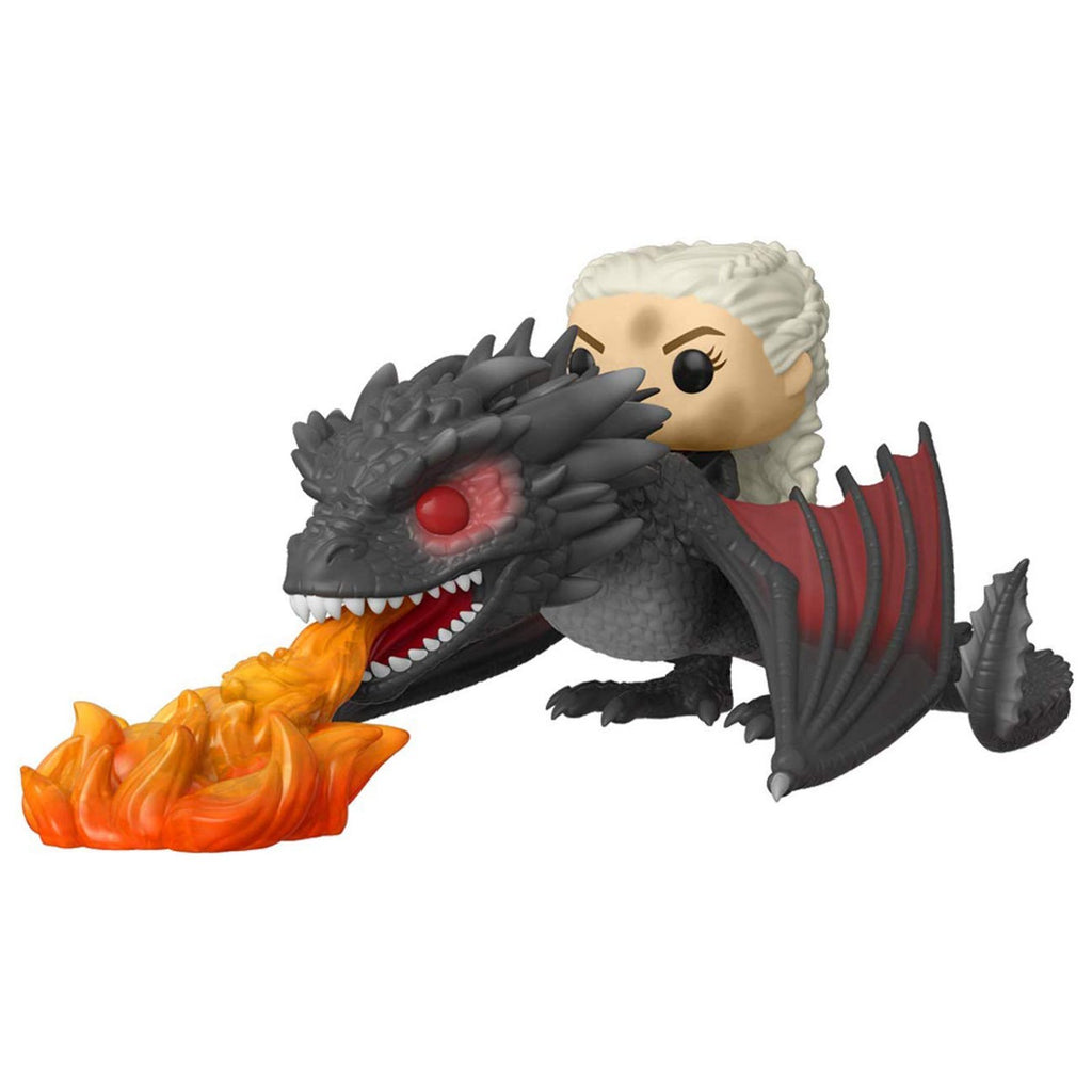 Funko Game Of Thrones POP Daenerys Fiery Dragon Figure Set