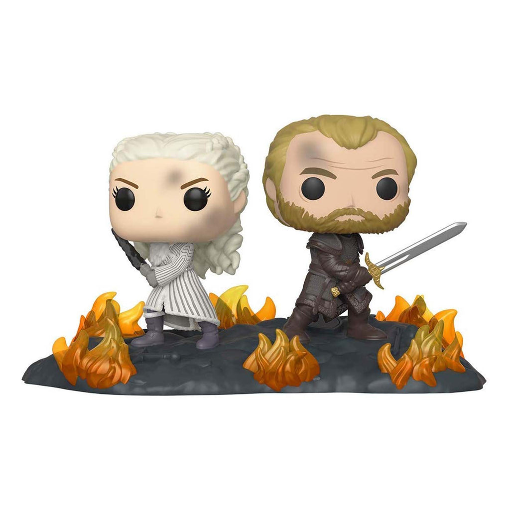 Funko Game Of Thrones POP Daenerys Jorah Battle Of Winterfell Set