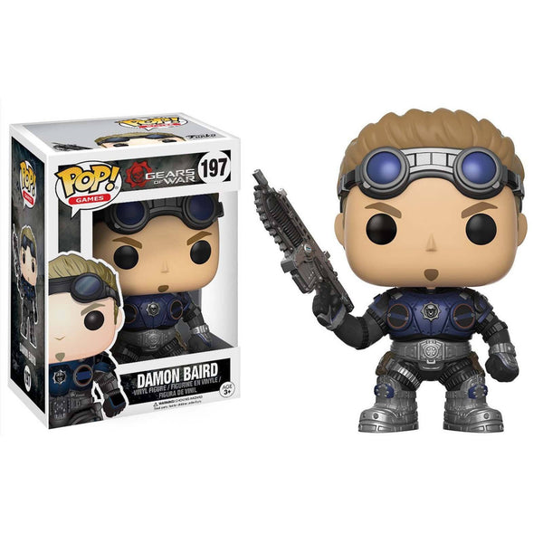 Damon Baird Armored Pop Gears Of War Pop S Funko Figure
