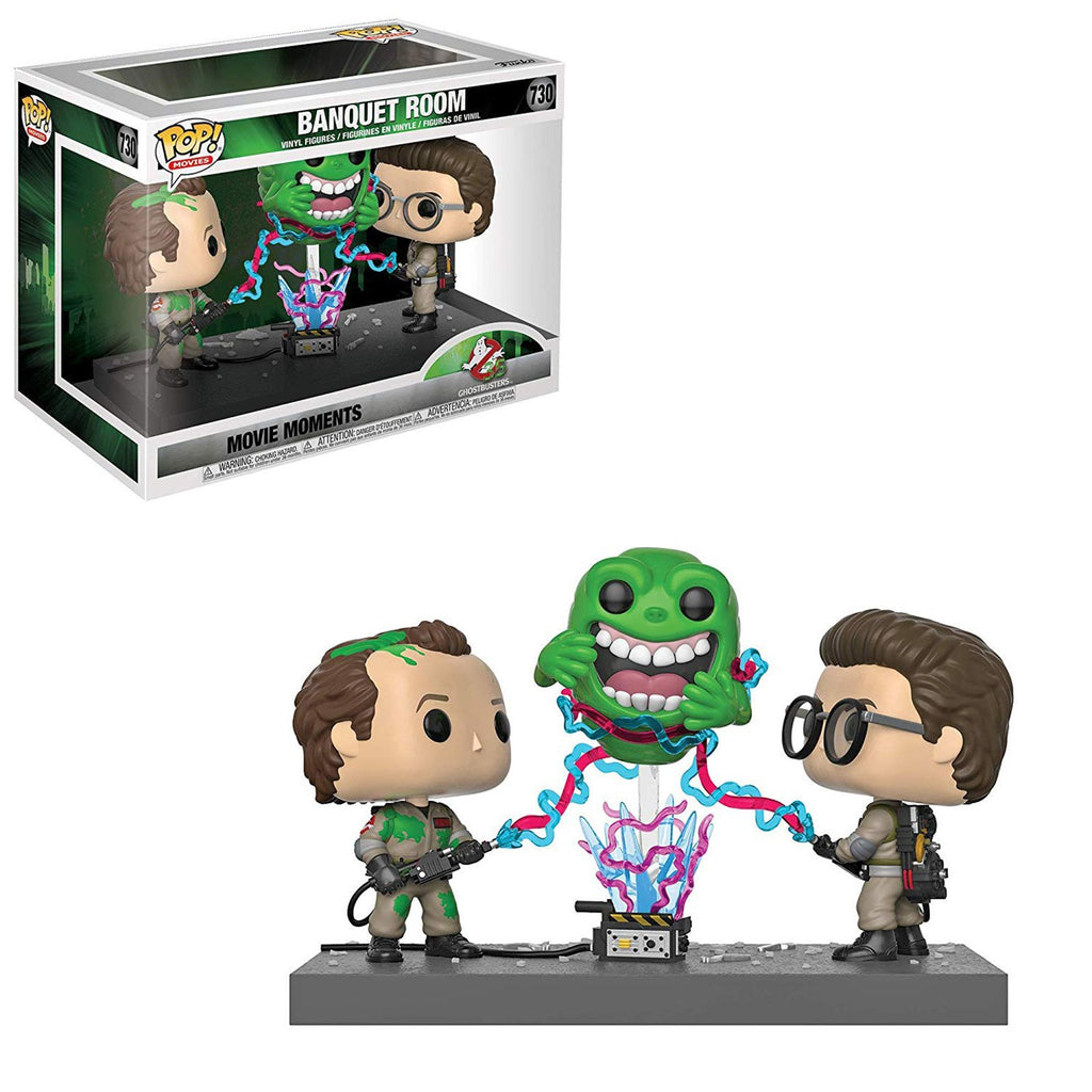 Funko Ghostbusters POP Movie Moments Banquet Room Vinyl Figure Set