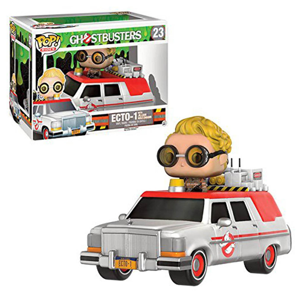 Funko Ghostbusters POP Rides Ecto-1 With Jillian Holtzman Vinyl Figure