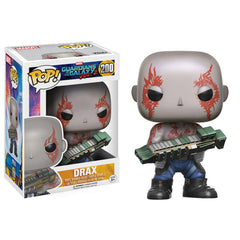 Funko Guardians Of The Galaxy 2 POP Drax Bobble Head Figure - Radar Toys