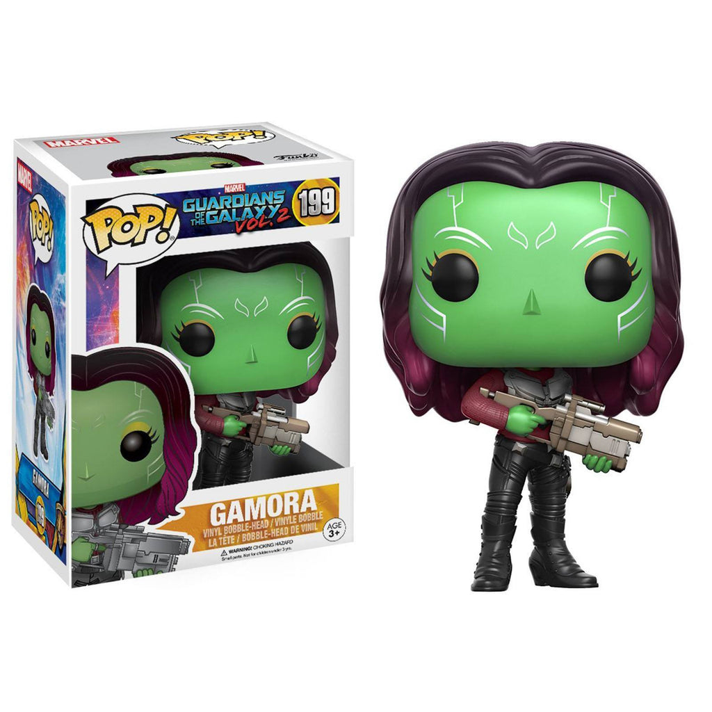 Funko Guardians Of The Galaxy 2 POP Gamora Bobble Head Figure