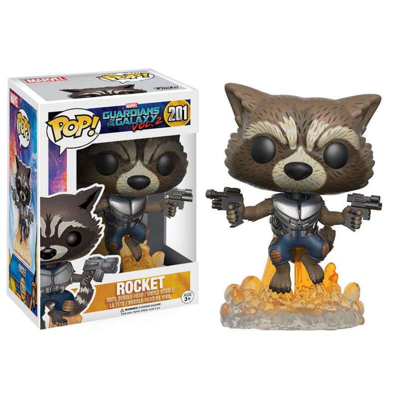 Funko Guardians Of The Galaxy 2 POP Rocket Bobble Head Figure