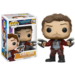 Funko Guardians Of The Galaxy 2 POP Star-Lord Bobble Head Figure - Radar Toys
