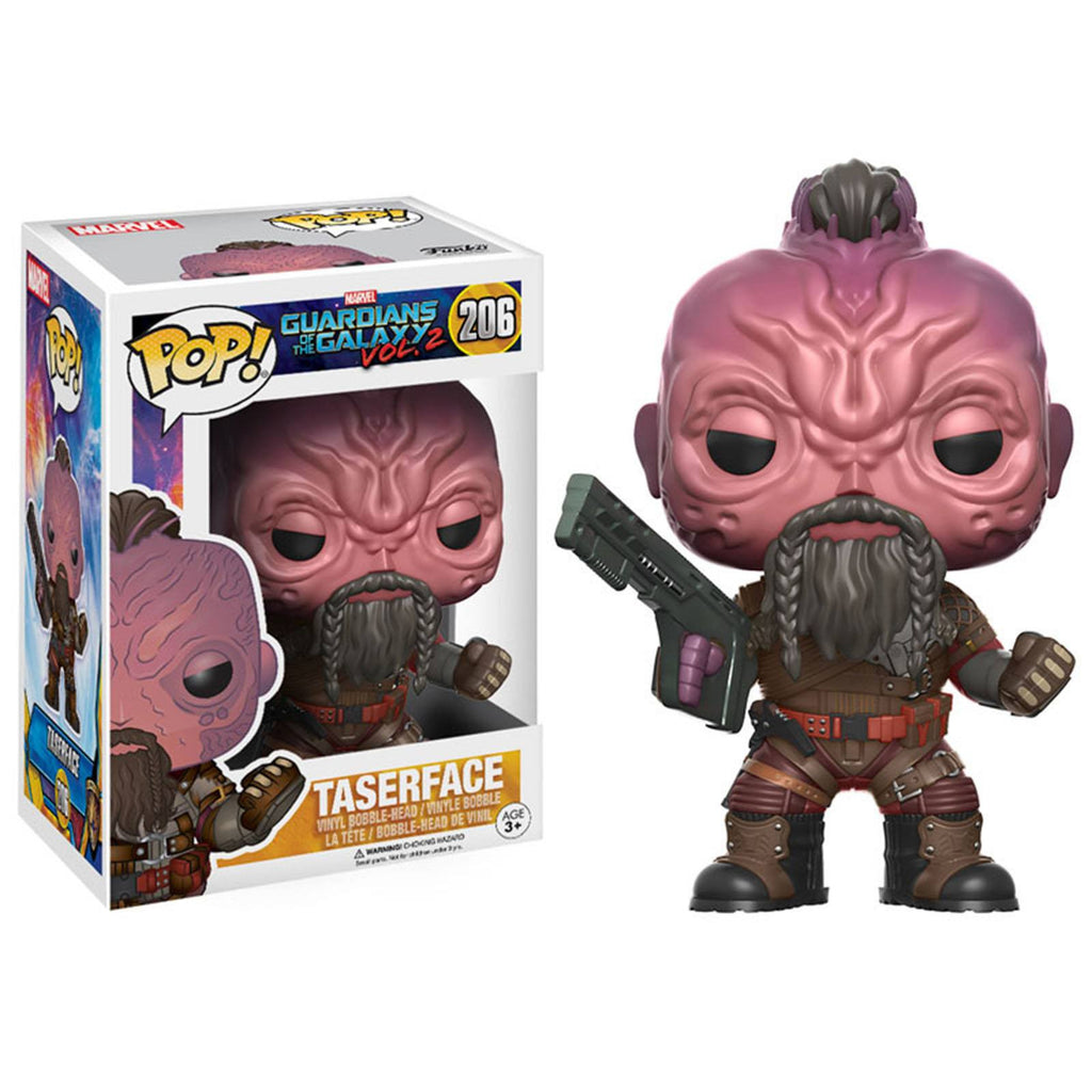 Funko Guardians Of The Galaxy 2 POP Taserface Bobble Head Figure