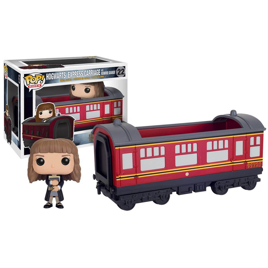 Funko Harry Potter POP Rides Hogwarts Express Carriage With Hermione Figure