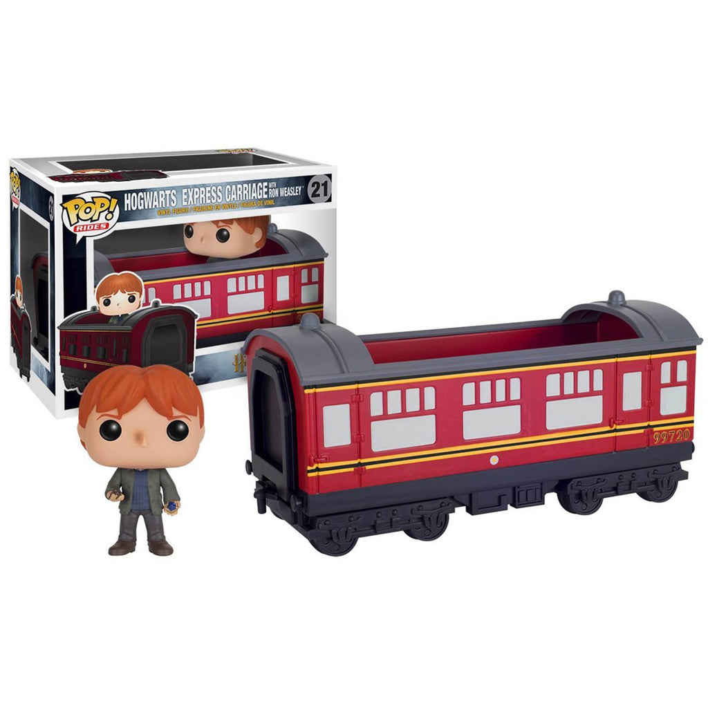 Funko Harry Potter POP Rides Hogwarts Express Carriage With Ron Figure
