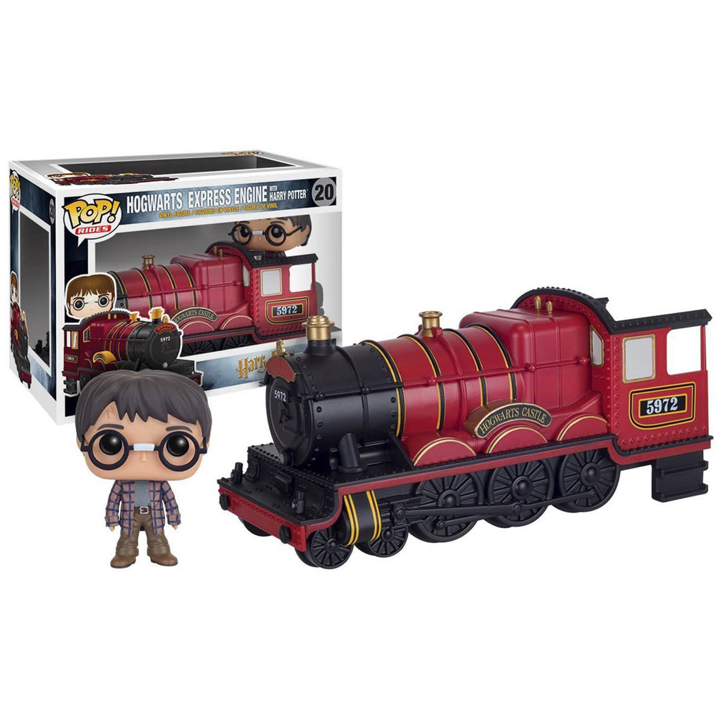 Funko Harry Potter POP Rides Hogwarts Express Engine With Harry Figure