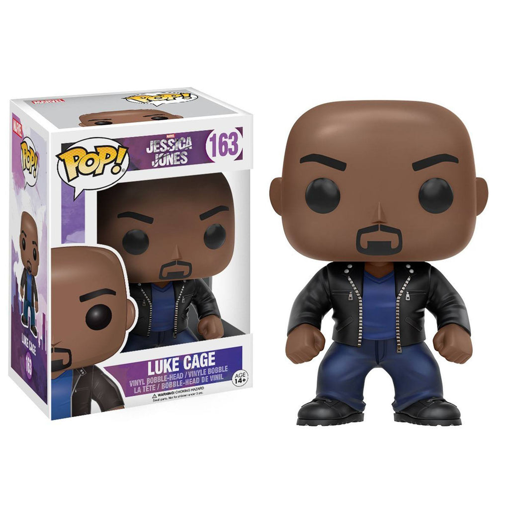 Funko Jessica Jones POP Luke Cage Bobble Head Vinyl Figure