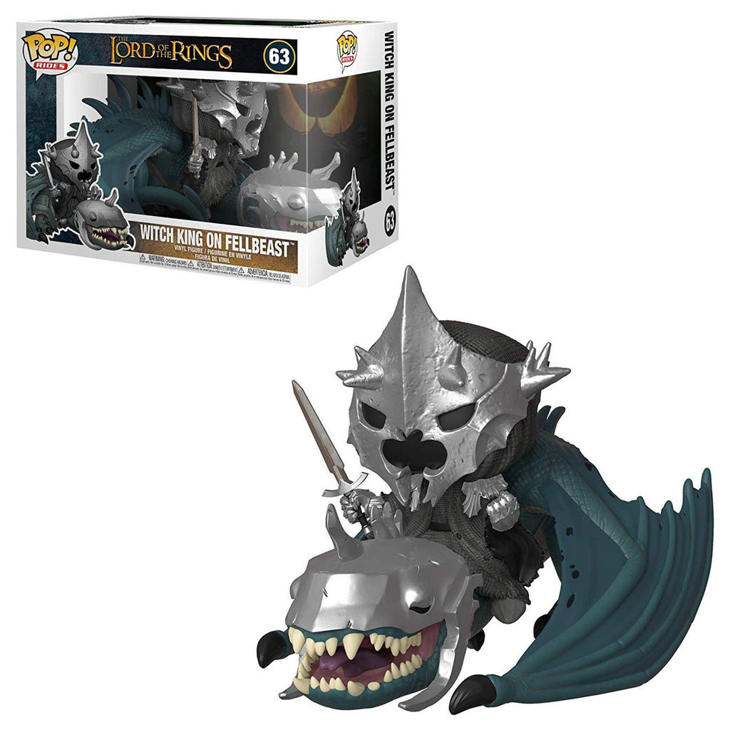 Funko POP Vinyl - Funko Lord Of The Rings POP Rides Witch King On Fellbeast Figure Set