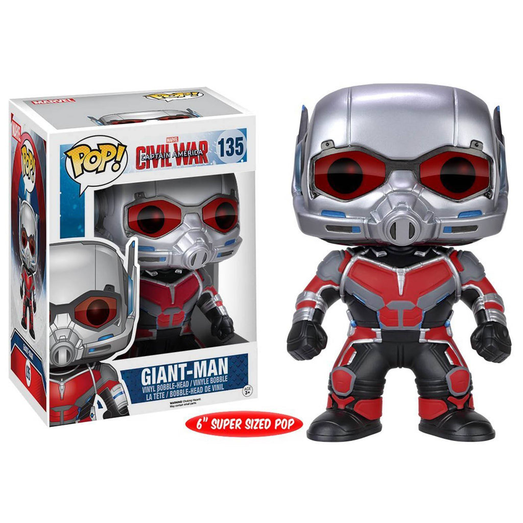 Funko Marvel Civil War POP Giant Man Bobble Head Vinyl Figure - Radar Toys