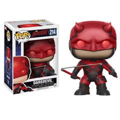Funko Marvel Daredevil POP Daredevil With Helmet Vinyl Figure - Radar Toys