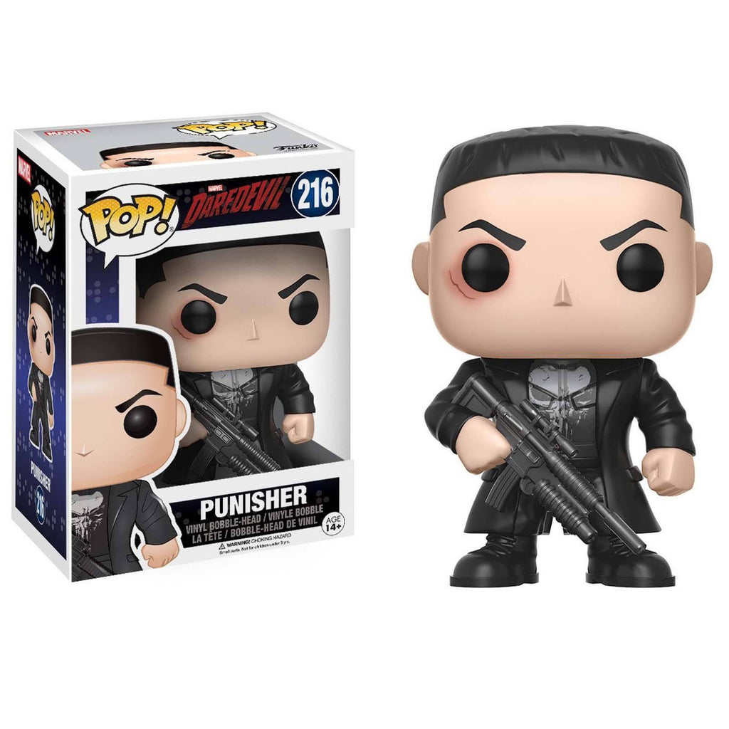 Funko Marvel Daredevil POP Punisher Vinyl Figure