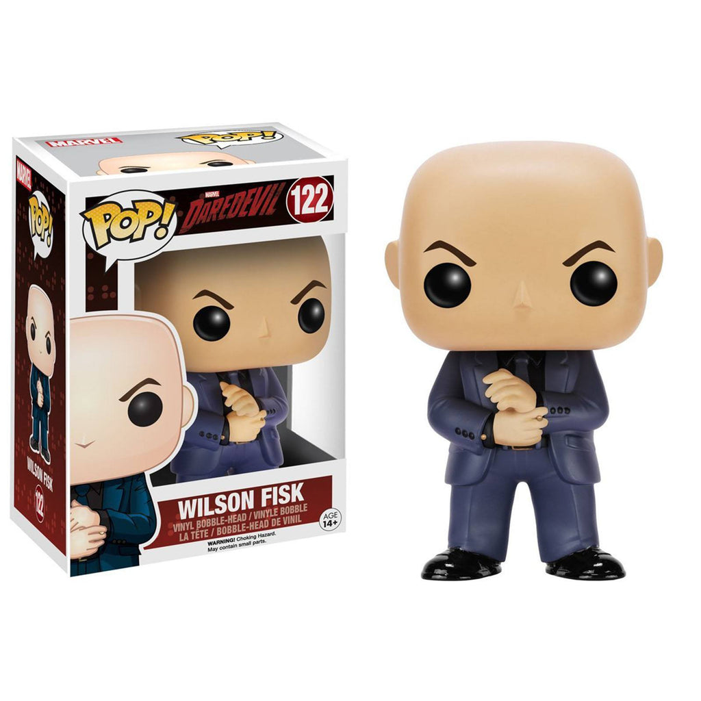Funko Marvel Daredevil POP Wilson Fisk Bobble Head Vinyl Figure - Radar Toys