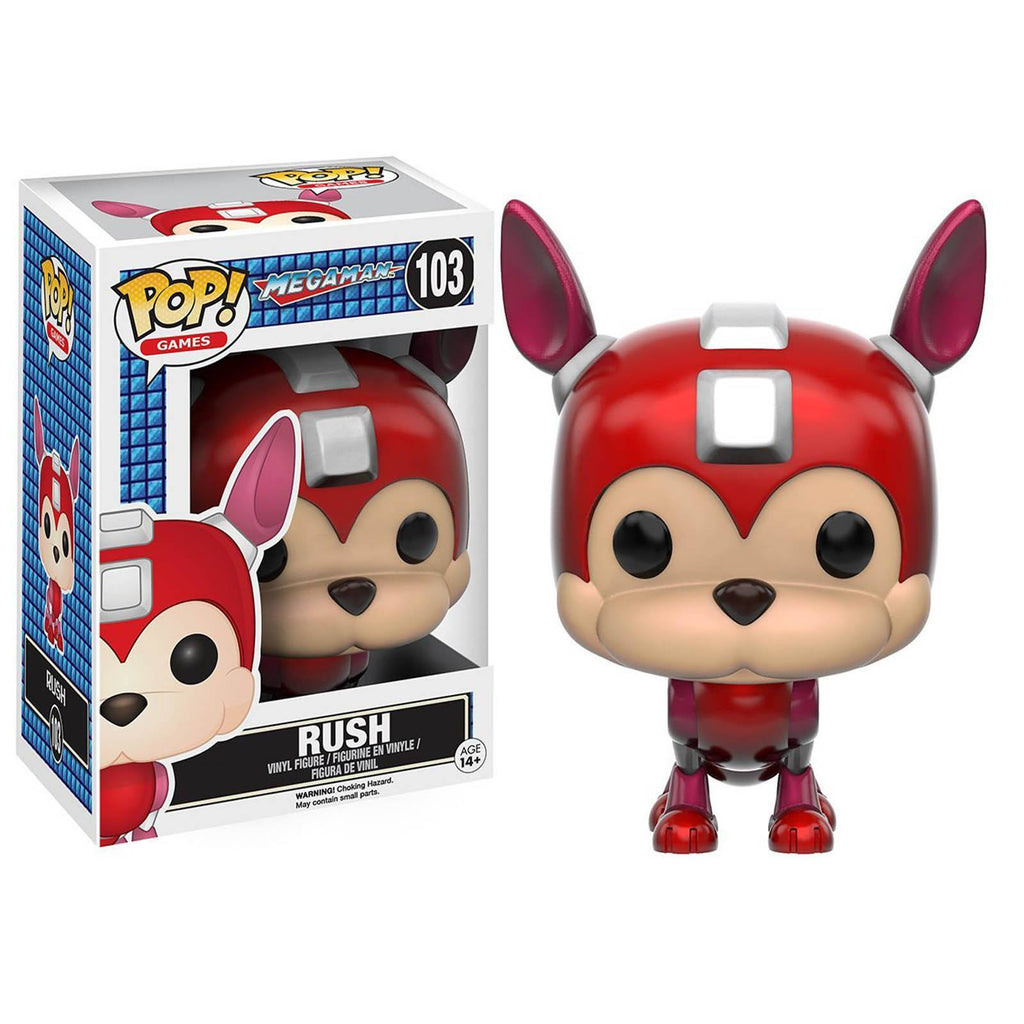 Funko Mega Man POP Rush Vinyl Figure - Radar Toys