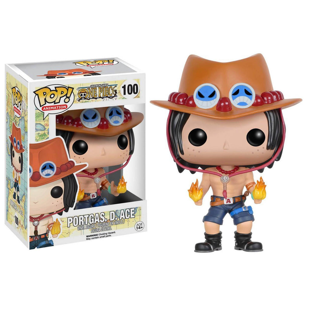 Funko One Piece POP Portgas D. Ace Vinyl Figure - Radar Toys
