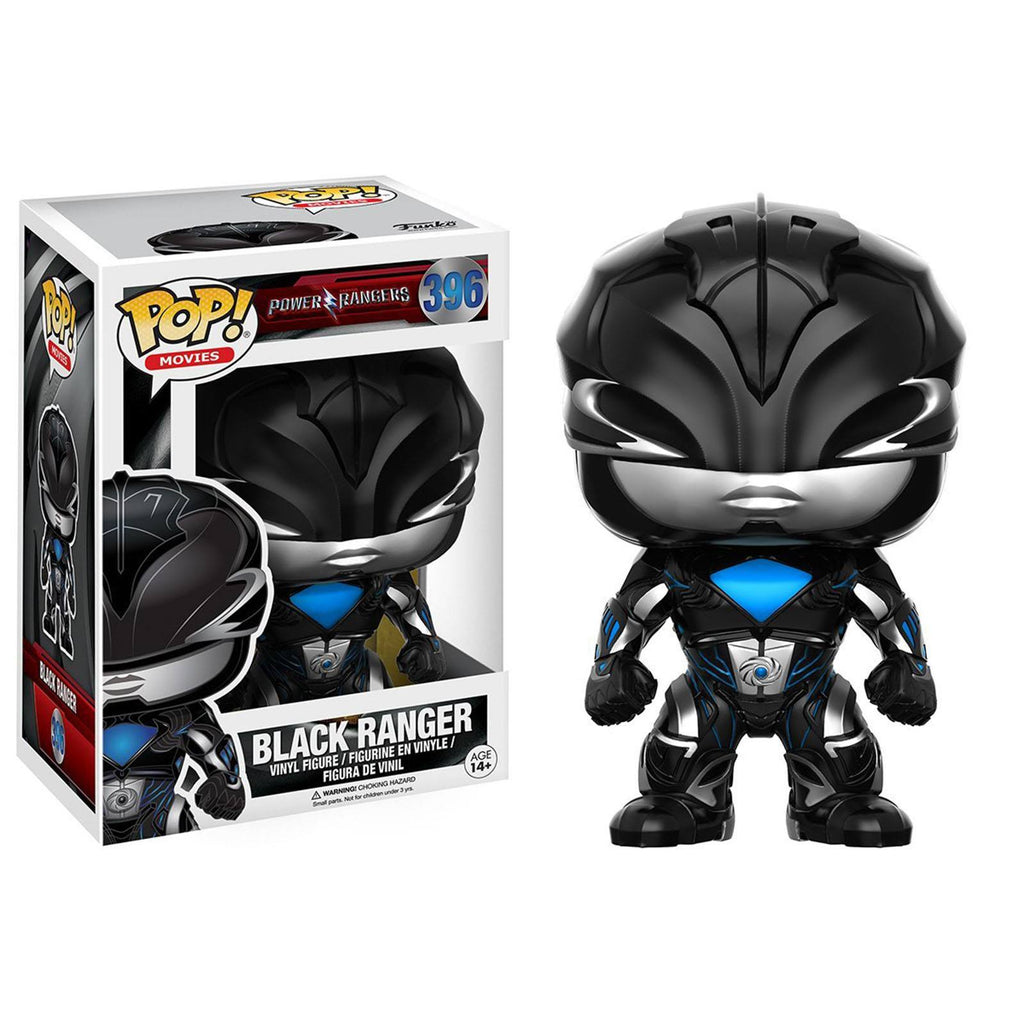 Funko Power Rangers Movie POP Black Ranger Vinyl Figure - Radar Toys