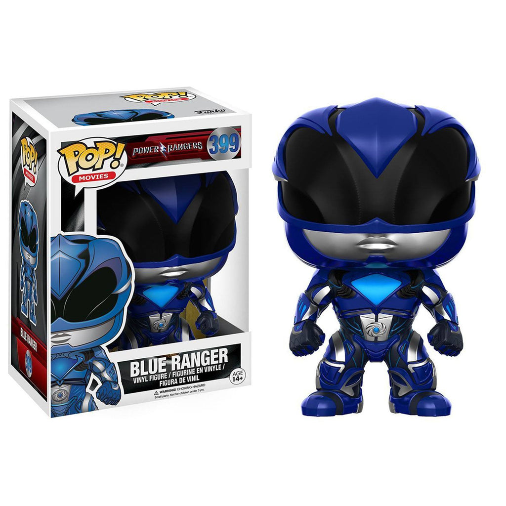 Funko Power Rangers Movie POP Blue Ranger Vinyl Figure - Radar Toys