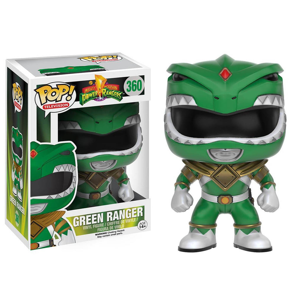 Funko Power Rangers POP Green Ranger Vinyl Figure - Radar Toys