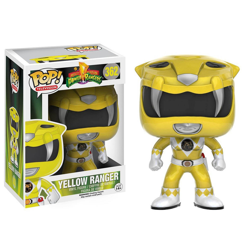 Funko Power Rangers POP Yellow Ranger Vinyl Figure