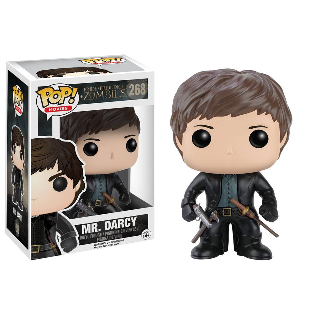 Funko Pride And Prejudice And Zombies POP Mr. Darcy Vinyl Figure - Radar Toys