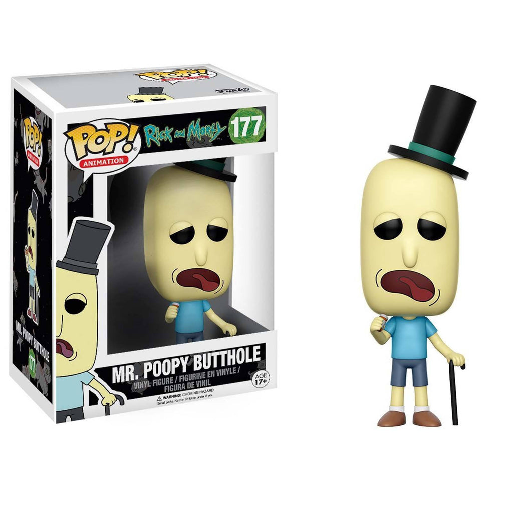 Funko Rick and Morty POP Mr. Poopy Butthole Vinyl Figure