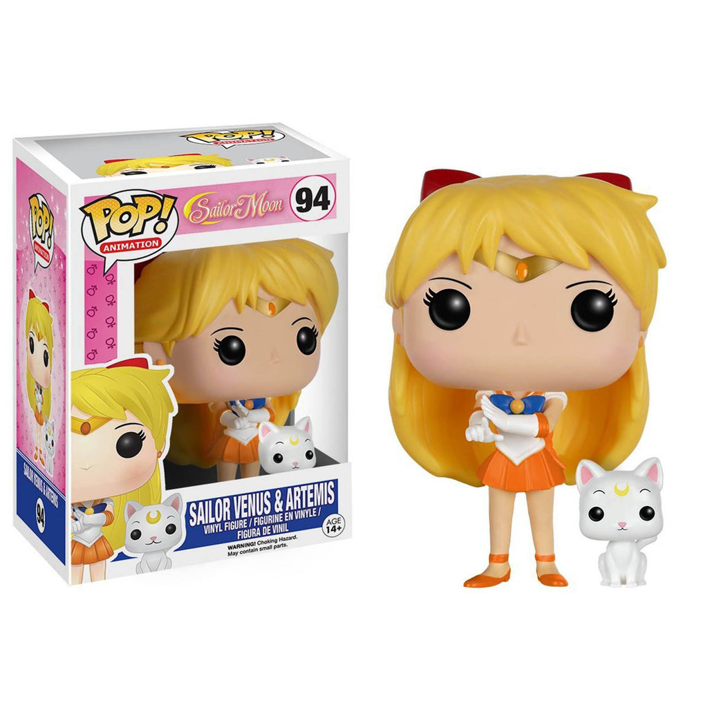 Funko Sailor Moon POP Sailor Venus with Artemis Vinyl Figure