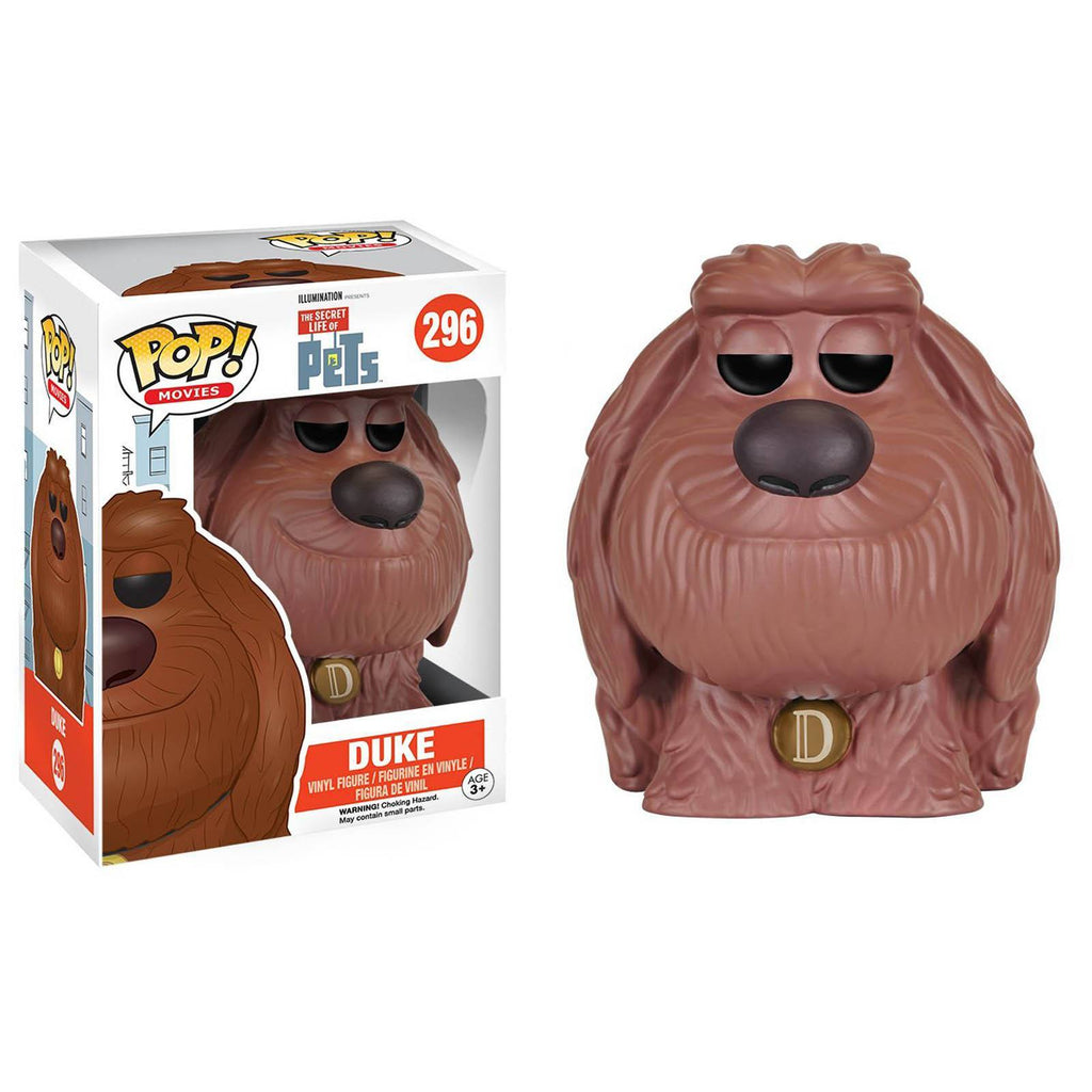 Funko Secret Life of Pets POP Duke Vinyl Figure - Radar Toys