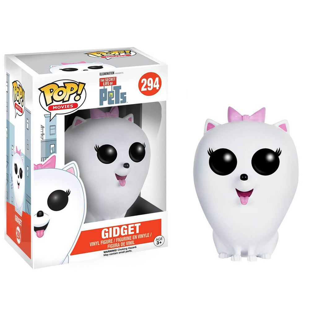 Funko Secret Life Of Pets POP Gidget Vinyl Figure - Radar Toys