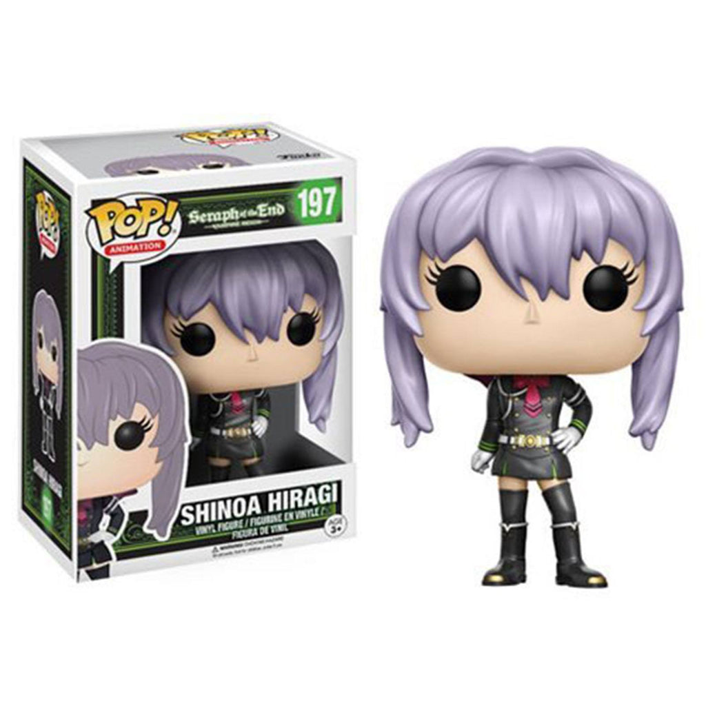Funko Seraph Of The End POP Shinoa Vinyl Figure