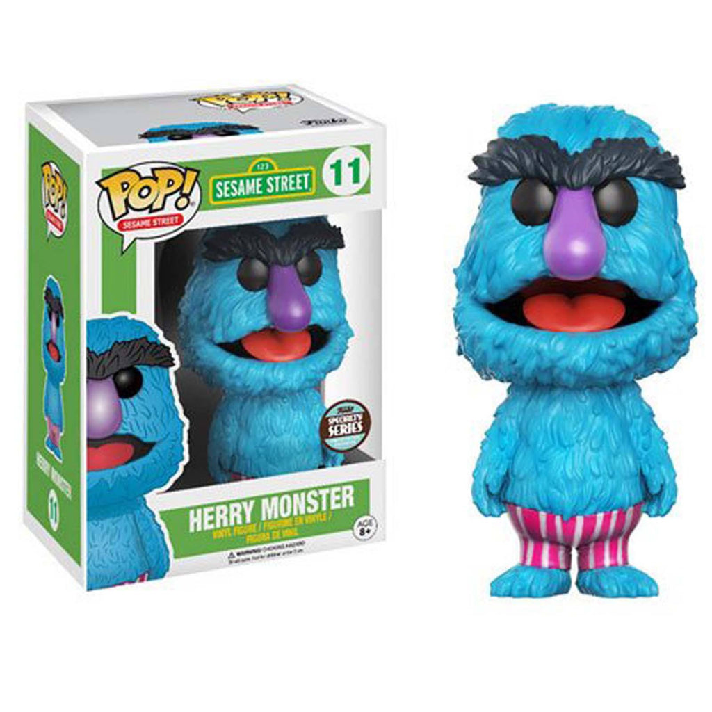 Funko Sesame Street Specialty Series POP Herry Monster Vinyl Figure
