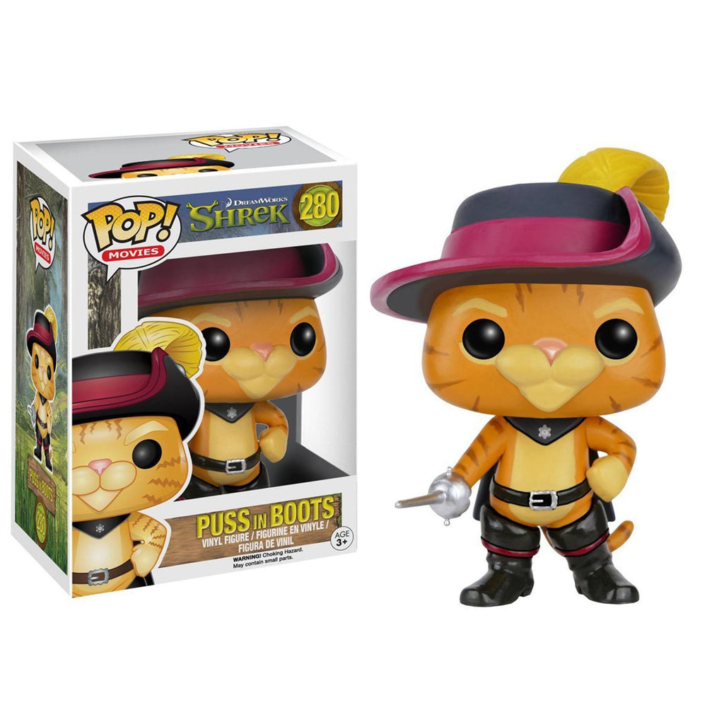 Funko Shrek POP Puss in Boots Vinyl Figure - Radar Toys