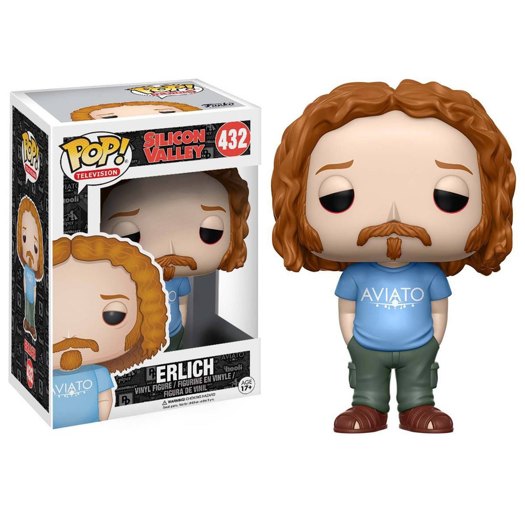 Funko Silicon Valley POP Erlich Vinyl Figure - Radar Toys