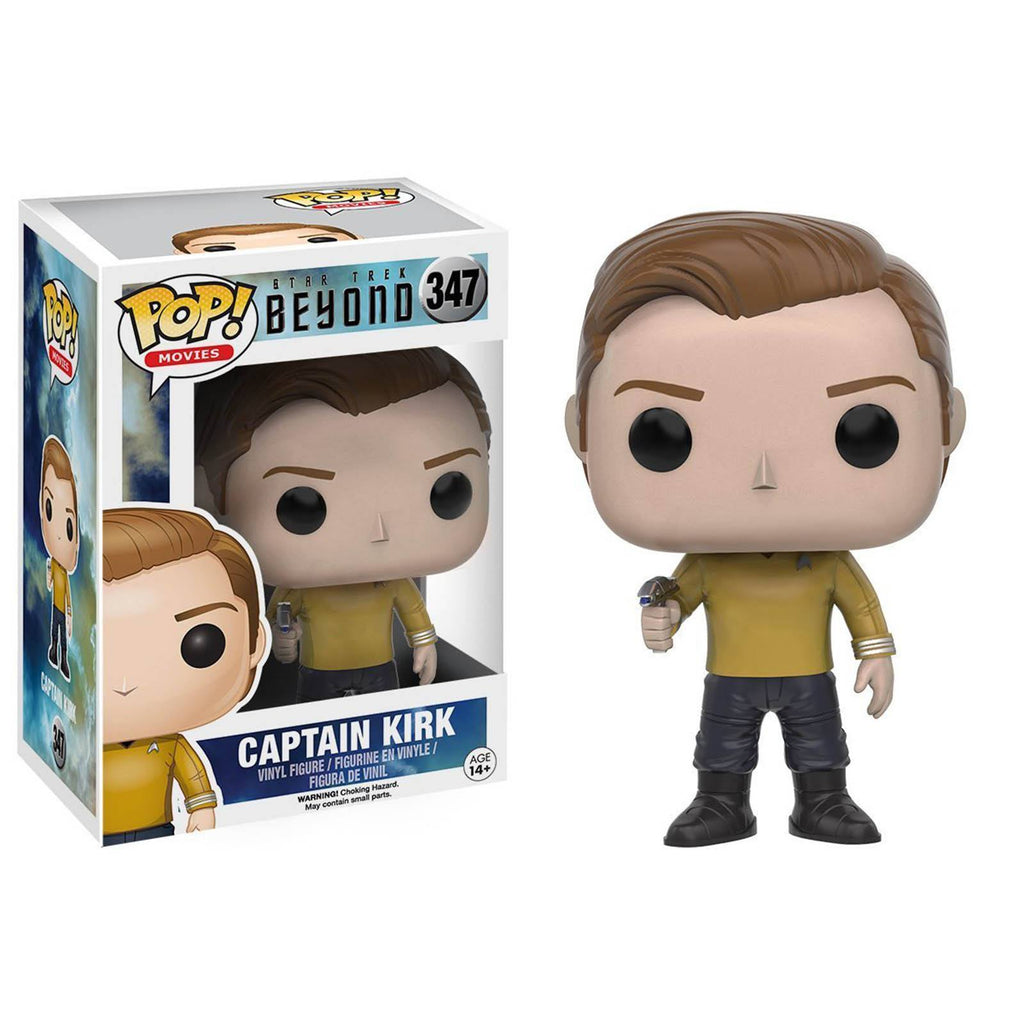 Funko Star Trek Beyond POP Captain Kirk Uniform Vinyl Figure