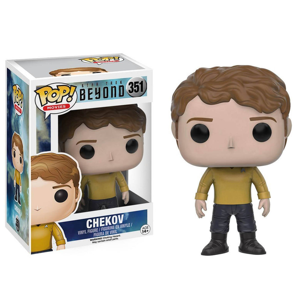 Funko Star Trek Beyond POP Chekov Uniform Vinyl Figure