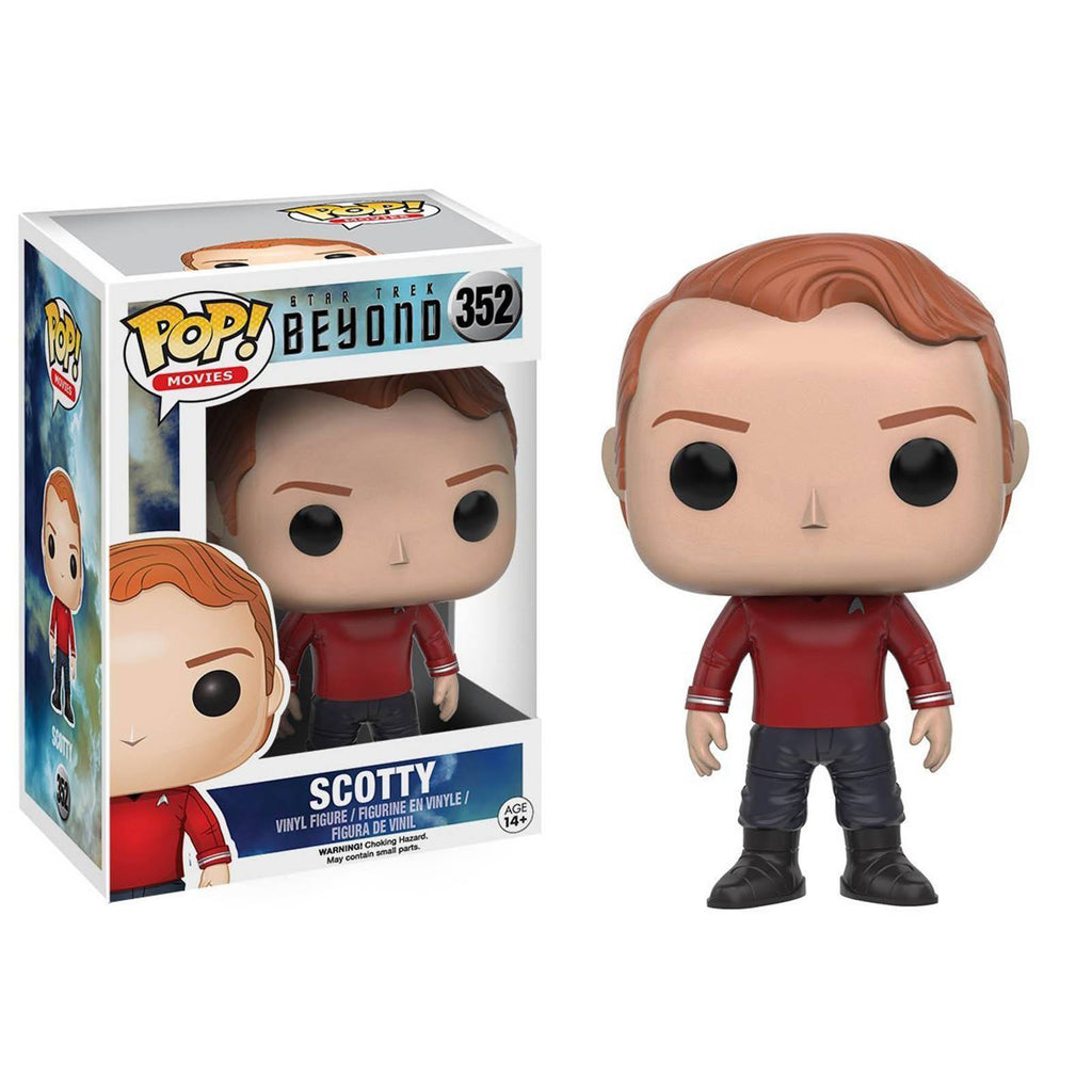 Funko Star Trek Beyond POP Scotty Uniform Vinyl Figure - Radar Toys