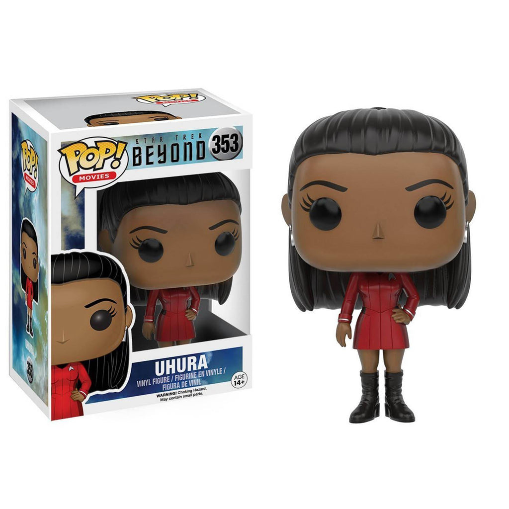 Funko Star Trek Beyond POP Uhura Uniform Vinyl Figure