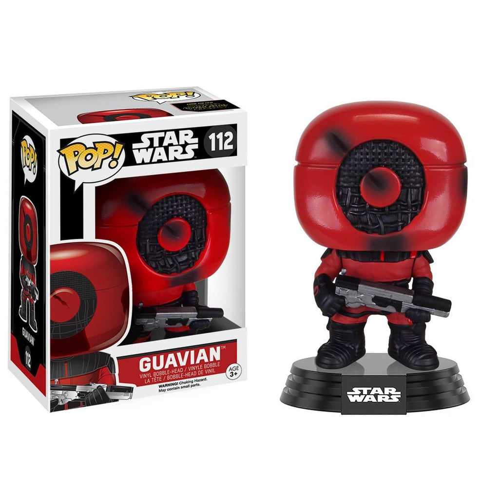 Funko Star Wars Force Awakens POP Guavian Bobble Head Vinyl Figure - Radar Toys
