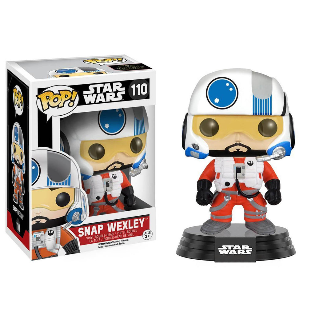 Funko Star Wars Force Awakens POP Snap Wexley Bobble Head Vinyl Figure