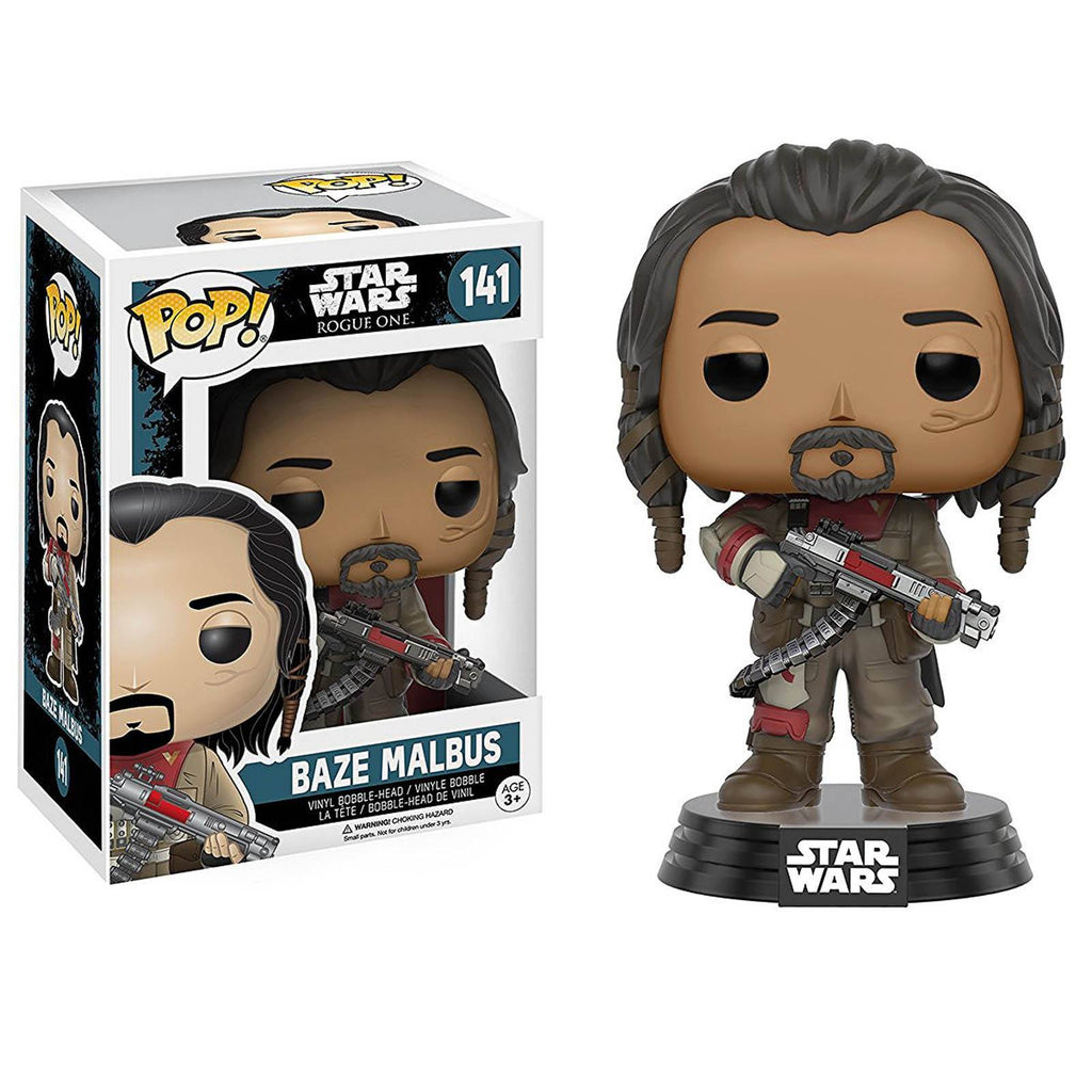 Funko Star Wars Rogue One POP Baze Malbus Bobble Vinyl Figure - Radar Toys
