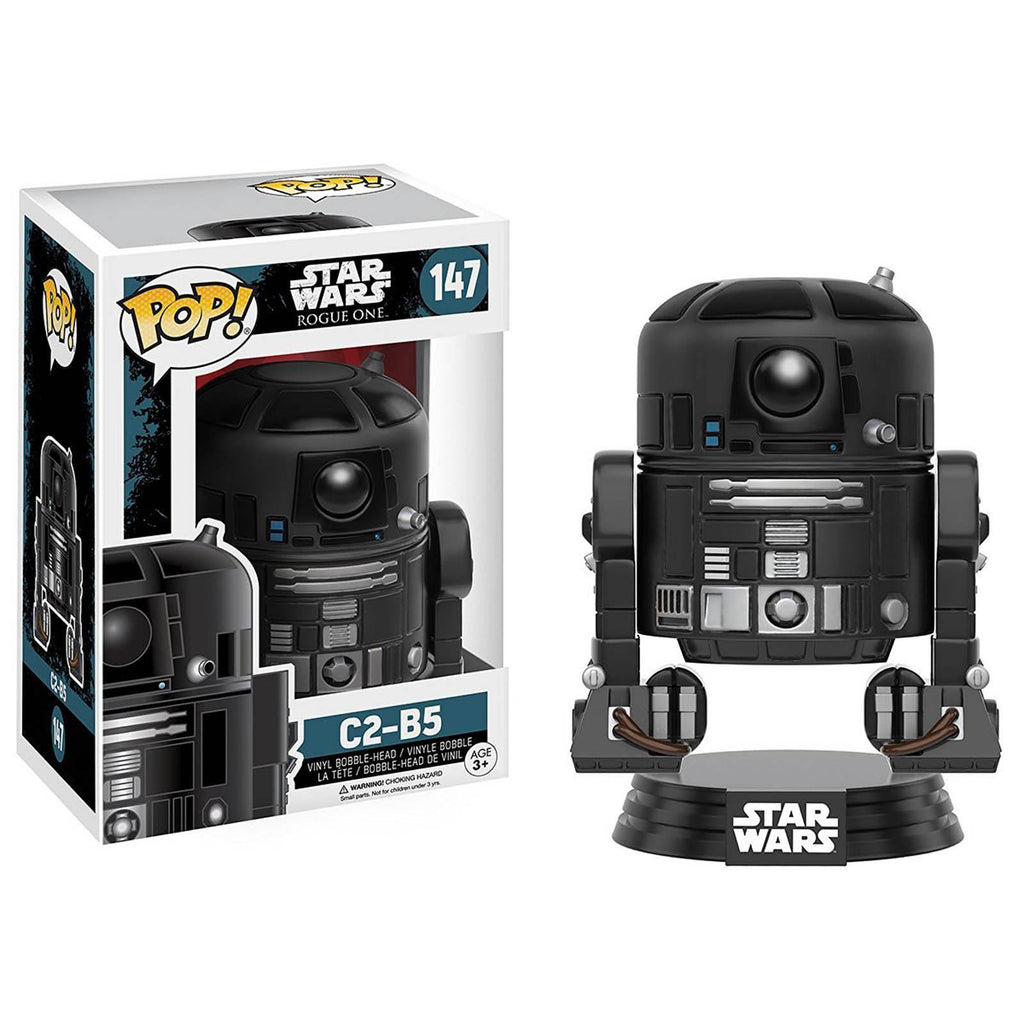 Funko Star Wars Rogue One POP C2-B5 Bobble Vinyl Figure - Radar Toys
