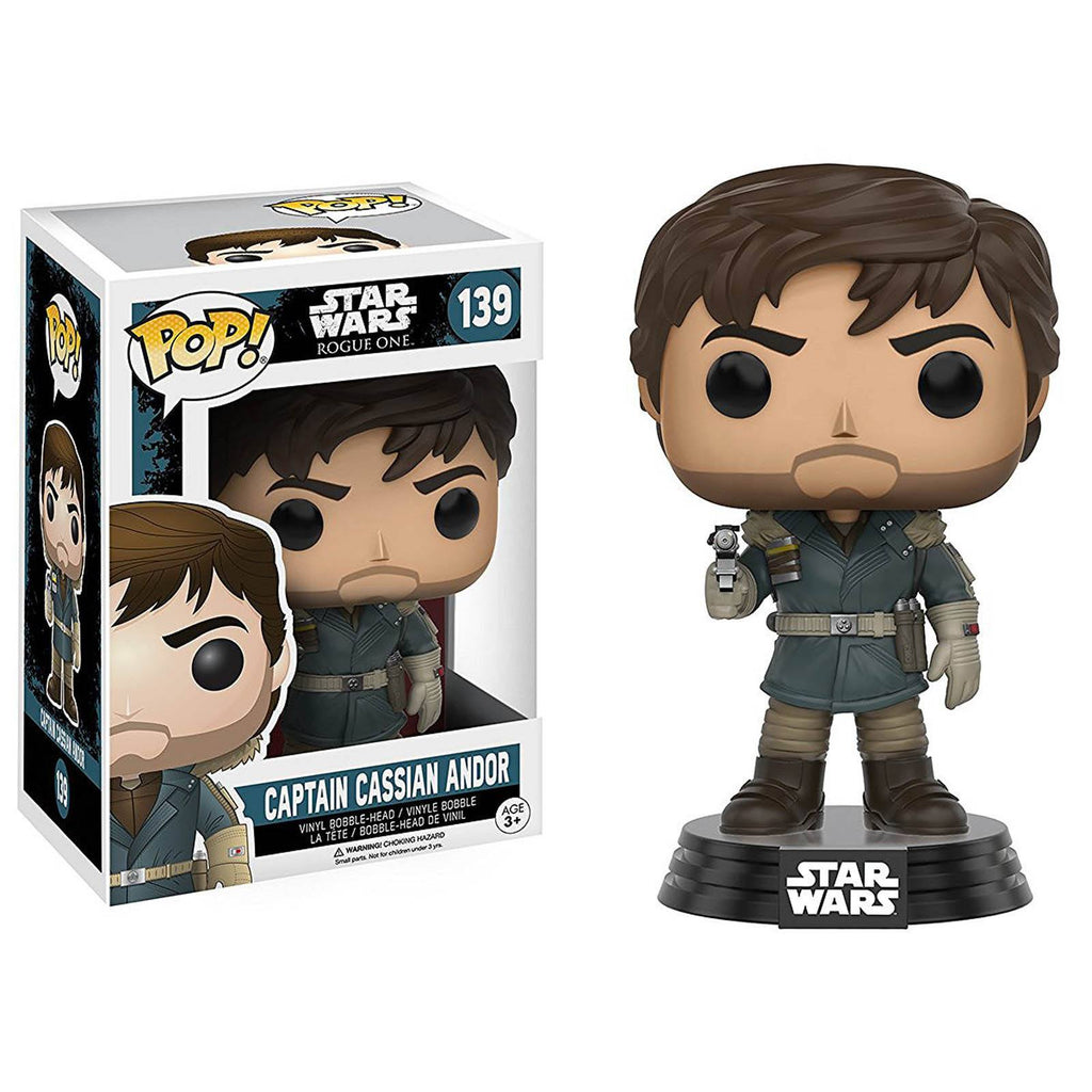 Funko Star Wars Rogue One POP Captain Cassian Andor Bobble Vinyl Figure