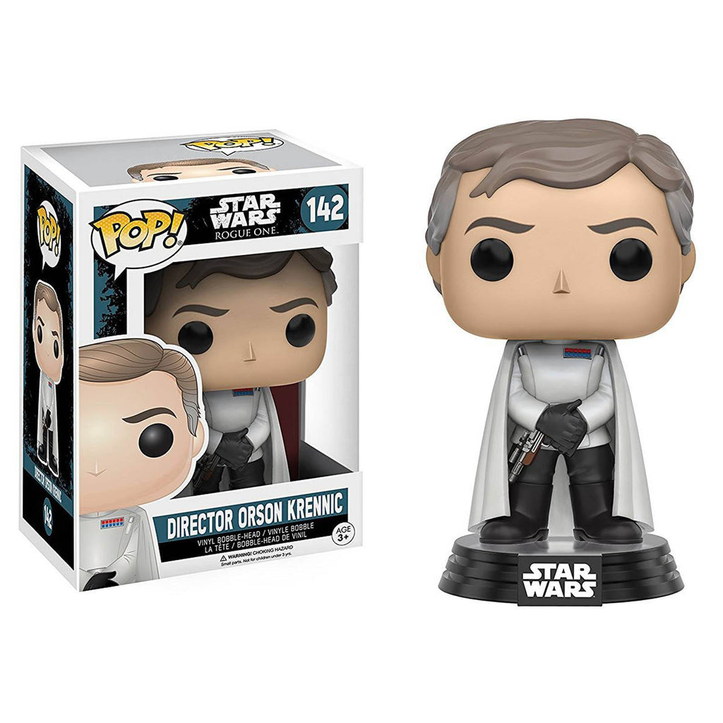 Funko Star Wars Rogue One POP Director Orson Krennic Bobble Vinyl Figure - Radar Toys