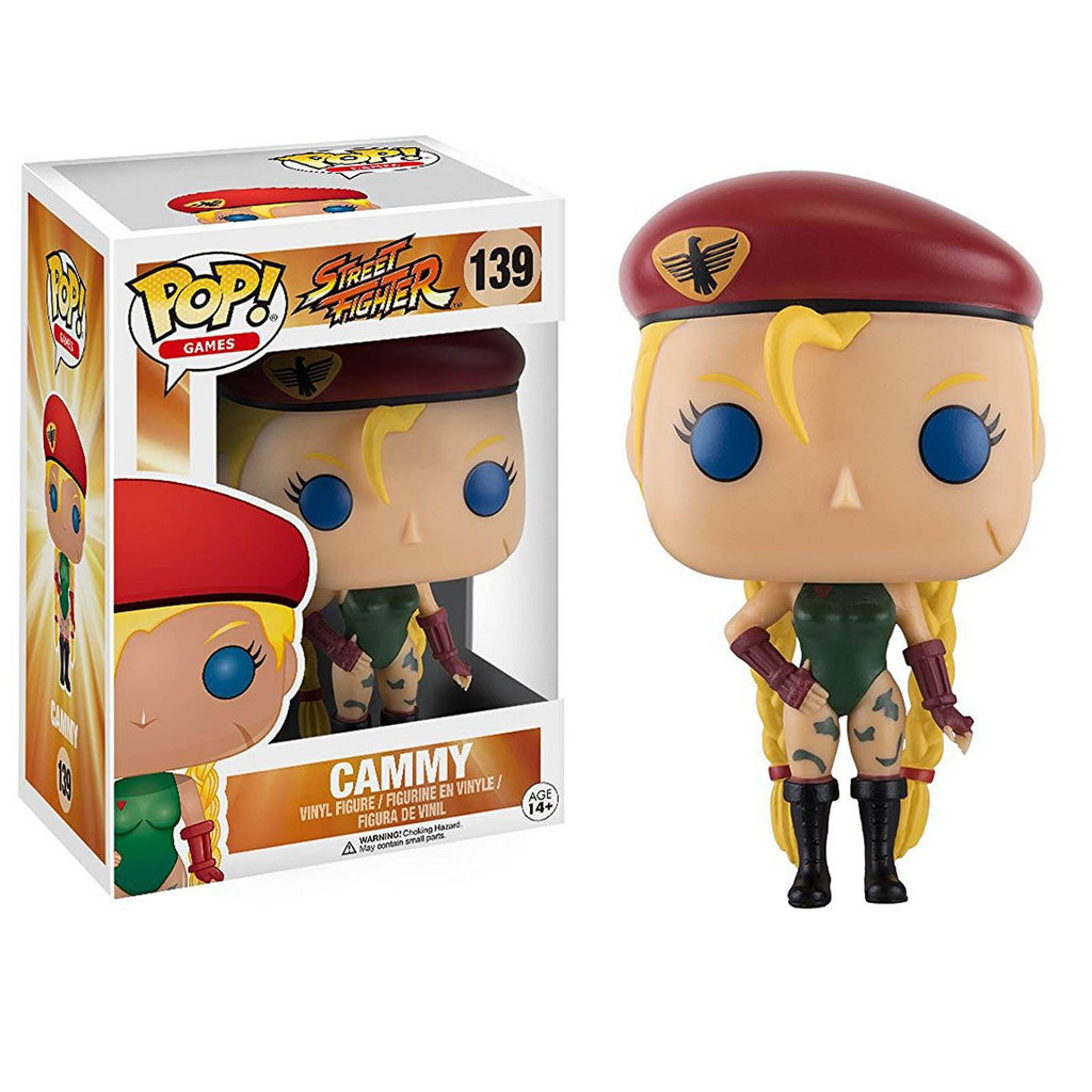 Funko Street Fighter POP Cammy Vinyl Figure - Radar Toys