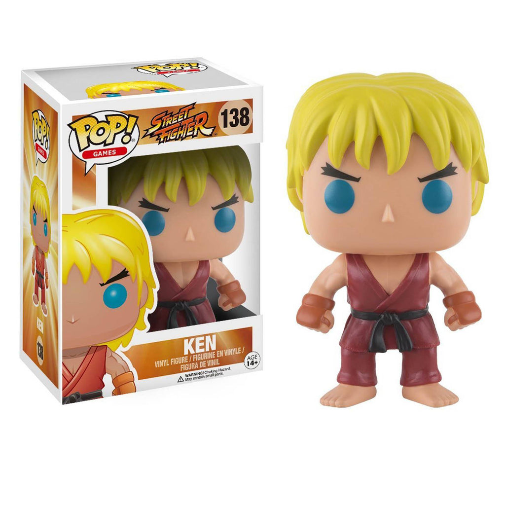 Funko Street Fighter POP Ken Vinyl Figure