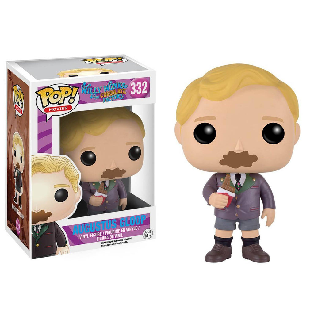 Funko Willy Wonka And The Chocolate Factory POP Augustus Gloop Vinyl Figure - Radar Toys