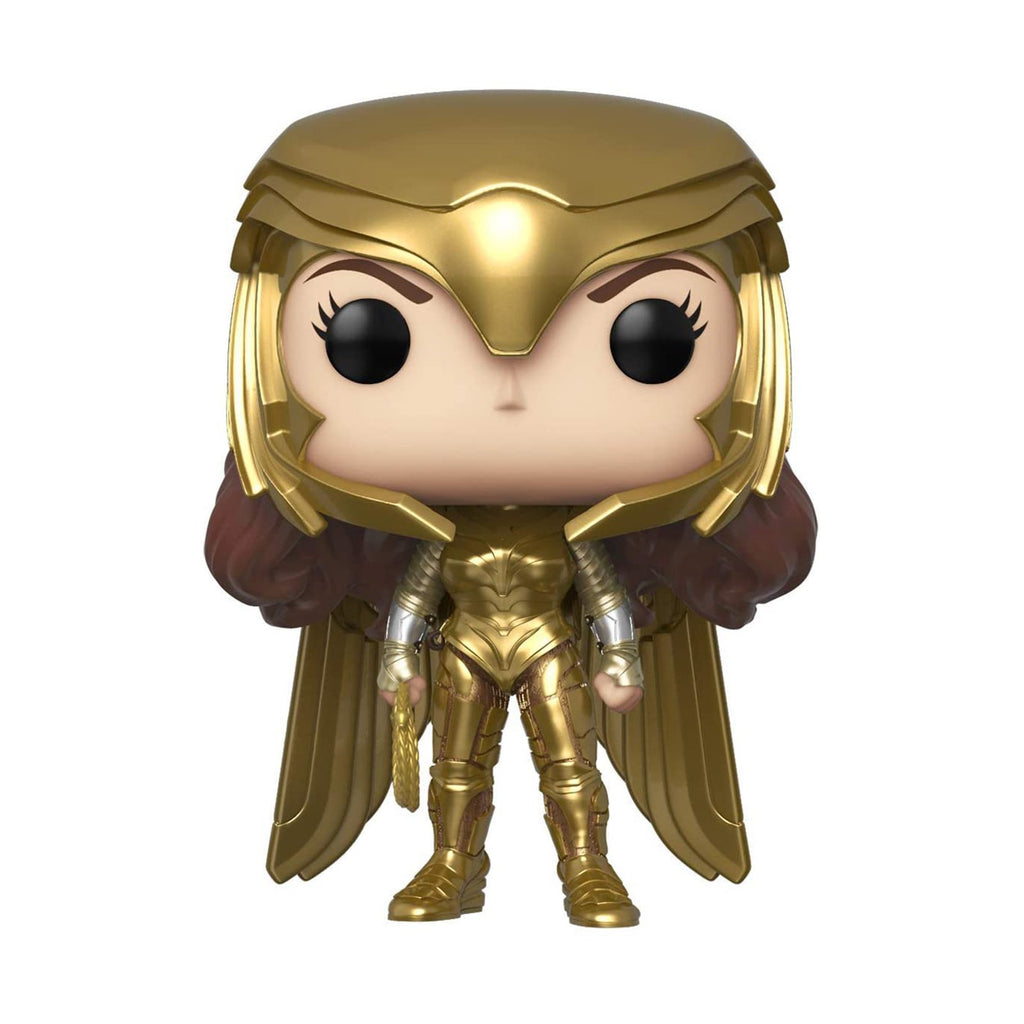 Funko Wonder Woman 84 POP Wonder Woman Golden Armor Figure