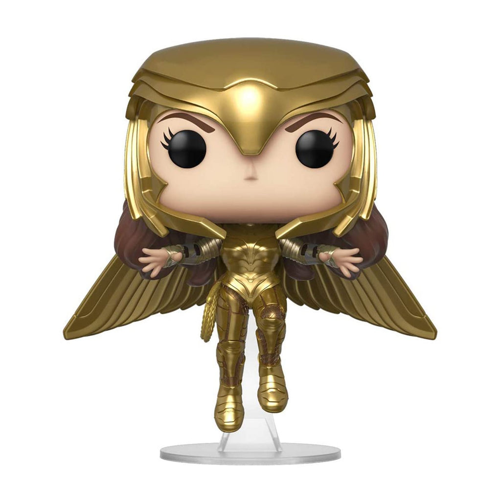 Funko Wonder Woman 84 POP Wonder Woman Golden Armor Flying Figure