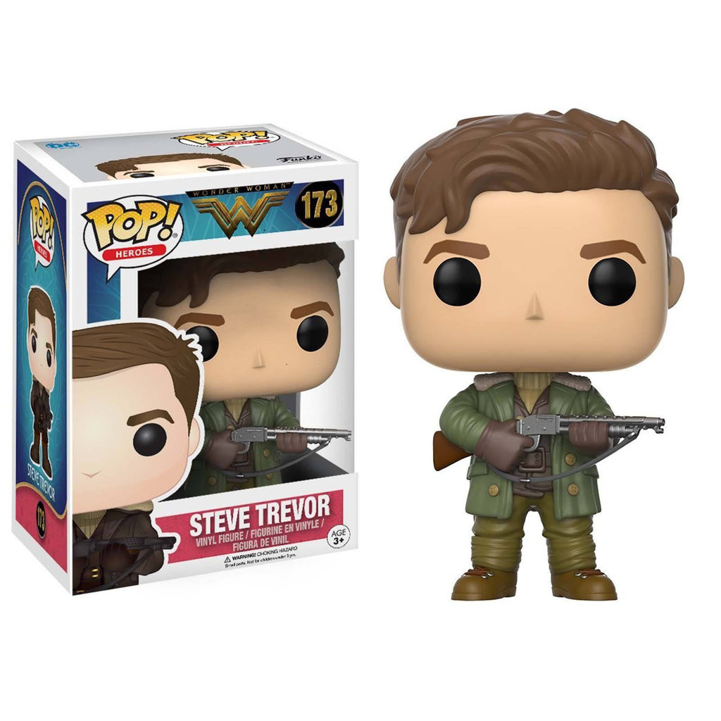 Funko Wonder Woman POP Steve Trevor Vinyl Figure